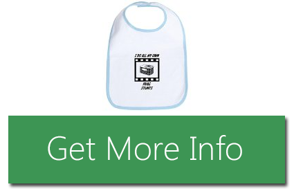 An CafePress HVAC Stunts Bib